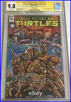 TMNT Teenage Mutant Ninja Turtles #69 Signed & Sketched Kevin Eastman CGC 9.8 SS