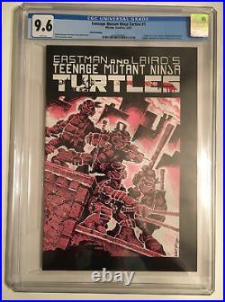 TMNT Teenage Mutant Ninja Turtles Comic # 1 CGC 9.6 WHITE Pages Mirage Studios