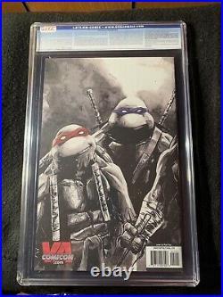 TMNT Teenage Mutant Ninja Turtles Ghostbusters # 1 CGC 9.8 VA Con Gold Foil