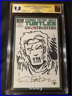 TMNT Teenage Mutant Ninja Turtles Ghostbusters #2 CGC 9.8 Signature Series Rare