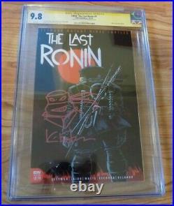 TMNT The Last Ronin #1 1st Print CGC SS 9.8 Sketch Eastman Sketch Ninja Turtles