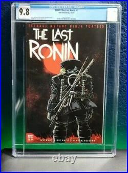 TMNT The Last Ronin #1 CGC 9.8 Cover A 1st Print Ninja Turtles