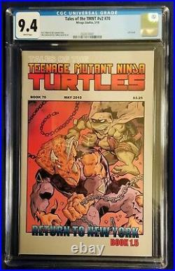 Tales Of The Teenage Mutant Ninja Turtles #70 Cgc 9.4 Nm Final Mirage Comic Tmnt