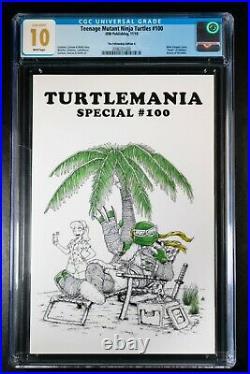 Teenage Mutant Ninja Turtles #100 CGC 10.0 GEM MINT! Only 2 exist