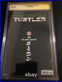 Teenage Mutant Ninja Turtles #100 CGC 9.8 SS Signed Peach Momoko Ultimate ES 250