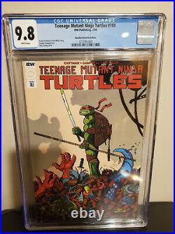 Teenage Mutant Ninja Turtles 101 +104 +105 + 110 Retailer Variants LOT CGC 9.8