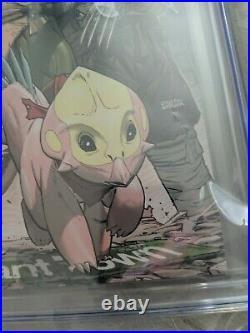 Teenage Mutant Ninja Turtles #101 110 Variant CGC 9.8 First Lita & Mona Lisa