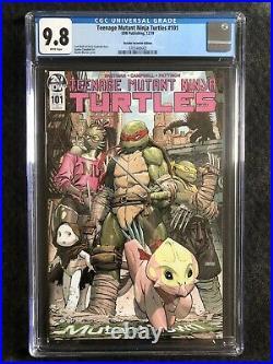 Teenage Mutant Ninja Turtles 101 Retailer Variant CGC 9.8 FIRST LITA & MONA LISA