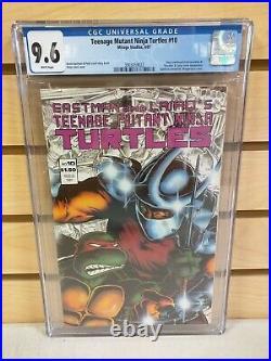 Teenage Mutant Ninja Turtles #10 CGC 9.6 (Mirage Studios 1987) TMNT