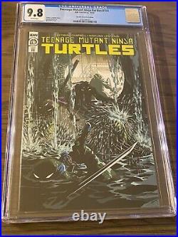 Teenage Mutant Ninja Turtles #110 110 Variant TMNT Last Ronin Preview CGC 9.8