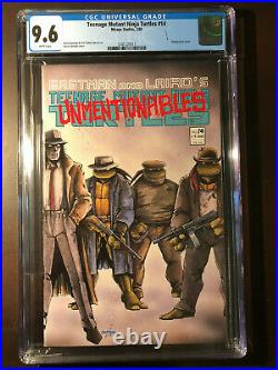 Teenage Mutant Ninja Turtles 14 CGC 9.6 WP VHTF