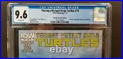 Teenage Mutant Ninja Turtles #18 Cgc 9.6 2013 Nirvana Homage Variant Idw Tmnt