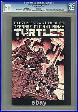 Teenage Mutant Ninja Turtles 1REP. 3RD CGC 9.0 1985 1206997005