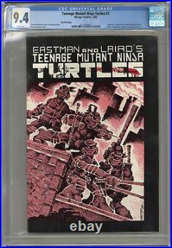 Teenage Mutant Ninja Turtles 1REP. 3RD CGC 9.4 1985 2125350001