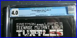 Teenage Mutant Ninja Turtles #1 (1984, Mirage) CGC 4.0 TMNT 2nd Print