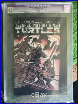 Teenage Mutant Ninja Turtles #1 (1984, Mirage) CGC 9.2 purple 1st print WHITE pg