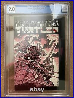 Teenage Mutant Ninja Turtles #1 (1984, Mirage) Third printing