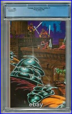 Teenage Mutant Ninja Turtles #1 (1985) CGC 9.8 Off-White Pages. 4th Print