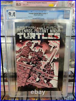 Teenage Mutant Ninja Turtles #1 (1985) Cgc Grade 9.4 Third Printing