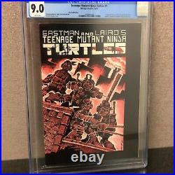 Teenage Mutant Ninja Turtles #1 (1st App) 2nd Print! Cgc 9.0 W Pages! Nm- 1984