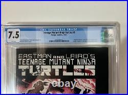 Teenage Mutant Ninja Turtles #1 1st Print CGC 7.5 White Pages 1984 Mirage TMNT