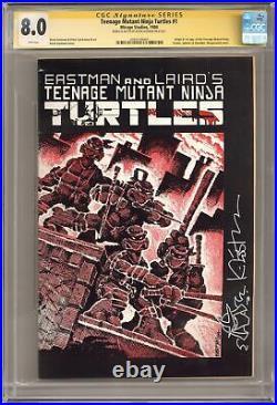 Teenage Mutant Ninja Turtles #1 1st Printing 1st Printing CGC 8.0 SS 1984