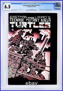 Teenage Mutant Ninja Turtles 1 1st print CGC 6.5 OWithW 1984 TMNT 3771028006
