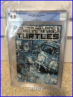 Teenage Mutant Ninja Turtles 1, 2, 3, 4, And Raphael #1 CGC. Please See Disc