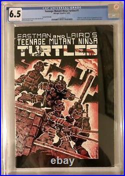 Teenage Mutant Ninja Turtles #1 2nd Print -CGC 6.5