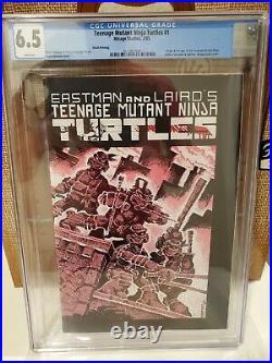 Teenage Mutant Ninja Turtles #1 3rd Print CGC 6.5 Mirage Origin 1st Appearance