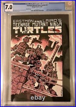 Teenage Mutant Ninja Turtles #1 3rd Print CGC 7.0