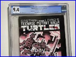 Teenage Mutant Ninja Turtles #1 3rd Print CGC 9.4 White Pages