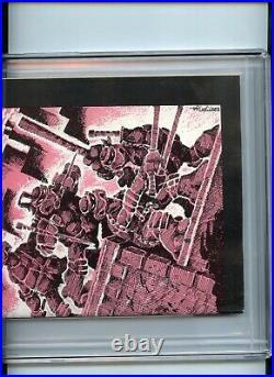 Teenage Mutant Ninja Turtles #1 3rd Printing CGC 7.5 OWTW Pages