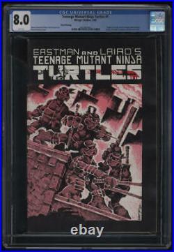 Teenage Mutant Ninja Turtles #1 3rd Third Print CGC 8.0 W Pg 1st Appearance TMNT