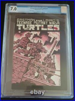 Teenage Mutant Ninja Turtles #1 3rd printing! CGC 7.0 1st App. Turtles! Hot