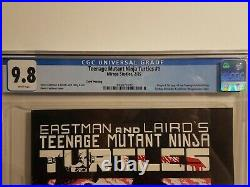 Teenage Mutant Ninja Turtles #1 3rd (third) Print Cgc 9.8 Mirage Eastman Laird