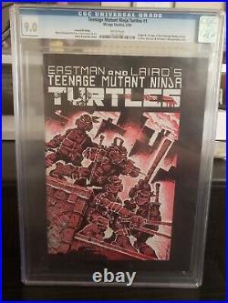 Teenage Mutant Ninja Turtles 1-4 & Raphael 1 CGC Kevin Eastman Signed & Sketched