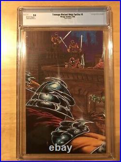 Teenage Mutant Ninja Turtles #1 4th Print CGC Grade 9.8