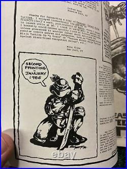 Teenage Mutant Ninja Turtles #1 5th print CGC 7.5 #2 2nd print High Grade Comic