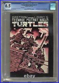 Teenage Mutant Ninja Turtles #1 (CGC 6.5) 1st app. 3rd printing 1985 (j#6338)