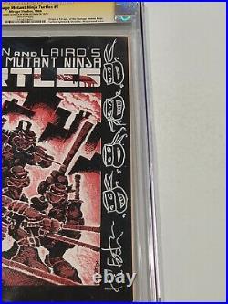 Teenage Mutant Ninja Turtles #1 CGC 6.5 Signature Series 1st Print 1st TMNT 1984