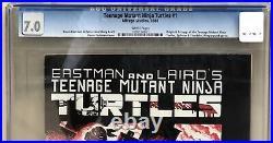 Teenage Mutant Ninja Turtles #1 CGC 7.0 1st Print 1984 Mirage 1308170001 TMNT