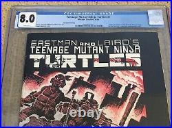 Teenage Mutant Ninja Turtles 1 CGC 8.0 White 2nd Prt (1st app TMNT) CGC #001+xtr