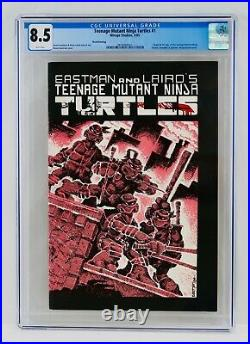 Teenage Mutant Ninja Turtles #1 CGC 8.5 Third Printing 3rd Print 1985 TMNT Grail