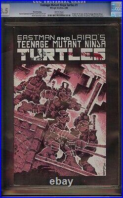 Teenage Mutant Ninja Turtles # 1 CGC 8.5 White 3rd Print (Mirage 1985) 1st TMNT