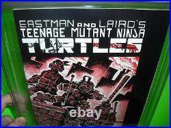 Teenage Mutant Ninja Turtles #1 CGC 9.0 2nd print WHITE PAGES! Mirage 1984 TMNT