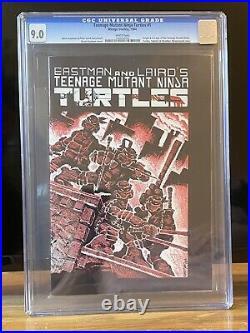 Teenage Mutant Ninja Turtles #1 CGC 9.0 First Print 1984 White Pages