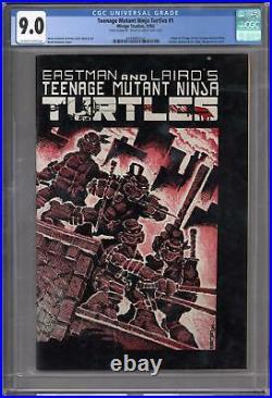 Teenage Mutant Ninja Turtles #1 CGC 9.0 (OW-W) Origin 1st Appearance