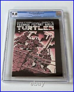 Teenage Mutant Ninja Turtles 1 CGC 9.0 Third Printing TMNT 3rd