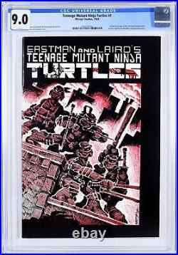 Teenage Mutant Ninja Turtles # 1 CGC 9.0 WHITE PAGES 1st Print 1984 TMNT